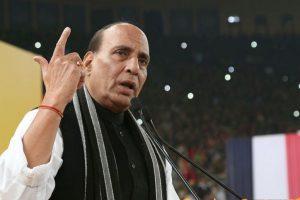 India foils Pakistan's bid to export terror: Rajnath Singh