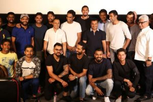 Special screening of Rahul Bose's 'Poorna' for Indian Cricket team