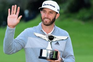 Dustin Johnson on top of world after Riviera victory