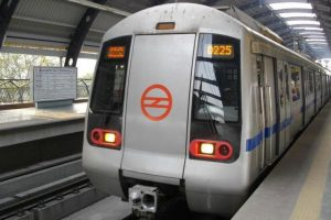 Woman jumps before metro train at Gurugram, injured