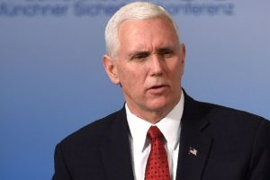 US Vice President Mike Pence promotes peace with N Korea