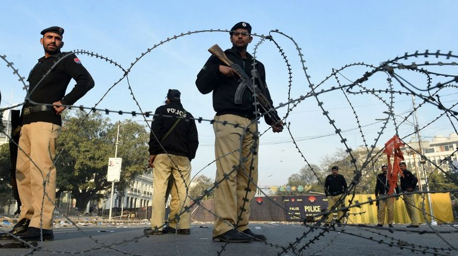 Pakistan blast, Seven policemen, Sariab Mill, Balochistan