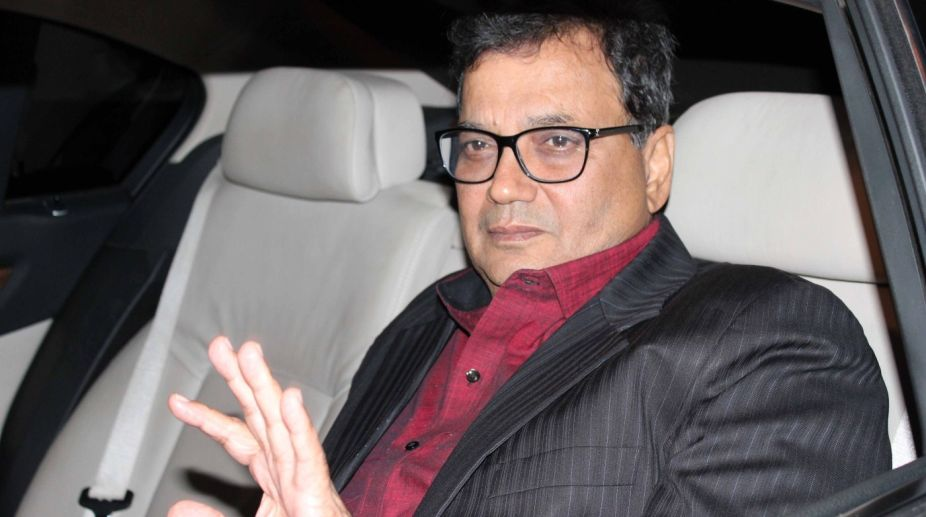 Filmmaker Subhash Ghai