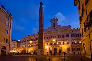 Paper bomb explodes near Italian Parliament