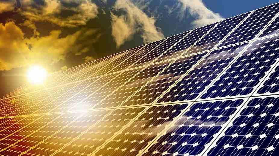 Solar energy, nuclear power station, Chernobyl Nuclear Station