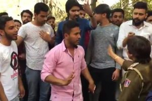 Clashes at Ramjas College after ABVP ruckus