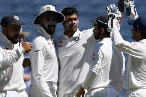 Pune Test: Indian bowlers led by Umesh rule Day 1