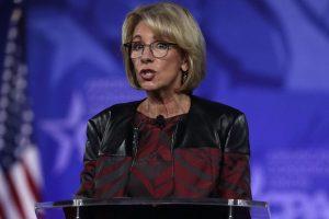US Education Secretary defends reversal of transgender bathroom rules