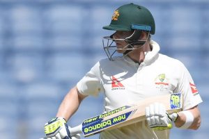 Pune Test: Australia seek to tighten grip, reach 46/2 at tea