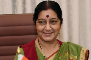 Sushma helps Indian woman in distress in Pakistan
