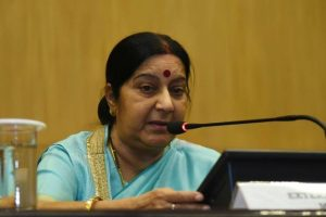 Officials in touch with wife of Indian killed in US: Sushma