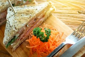 Easy to make Crunchy Carrot Cabbage Sandwich
