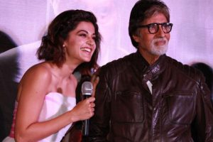 Big B, Taapsee Pannu to watch 'Pink' with President Pranab Mukherjee