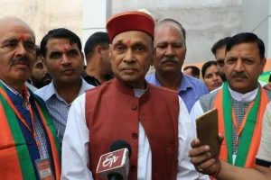 Himachal govt failed to protect farmers' interest, says Dhumal