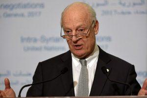Homs attacks aim to spoil peace talks, says UN envoy