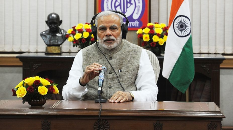 PM Modi urges youth to start a 'Fit India Movement'""
