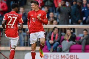 Lewandowski bags hattrick as Bayern Munich rout Hamburg