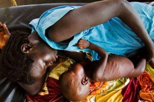 Famine amidst food!