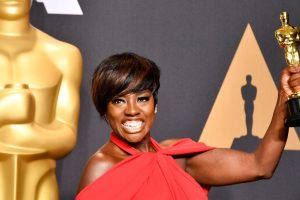Viola Davis wins best supporting actress Oscar