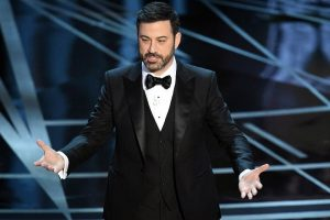 Jimmy Kimmel live tweets Donald Trump at Oscars