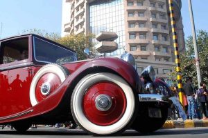 The Statesman car rally: Vintage beauties roll out in splendour