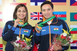 Jitu Rai, Heena Sidhu win medals at Asian Championships