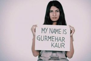 Gurmehar Kaur withdraws campaign, gets police protection