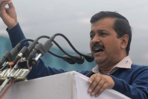 BJP, ABVP party of goons: Kejriwal