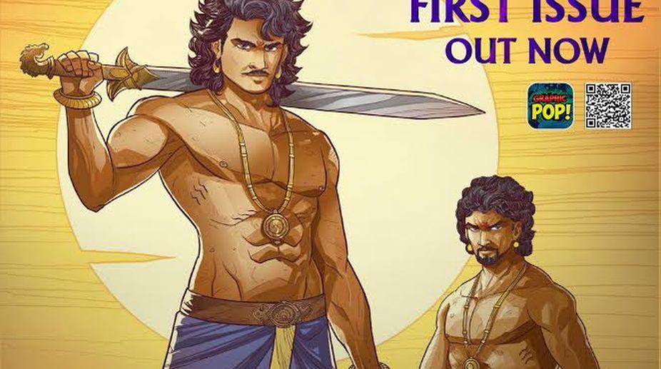 Baahubali's Graphic novel launched!