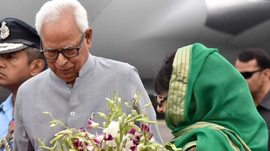 Governor NN Vohra, JK Governor, President Kovind, radicalisation, corruption