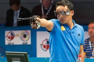 Jitu Rai, Heena Sidhu strike gold in air pistol mixed team event
