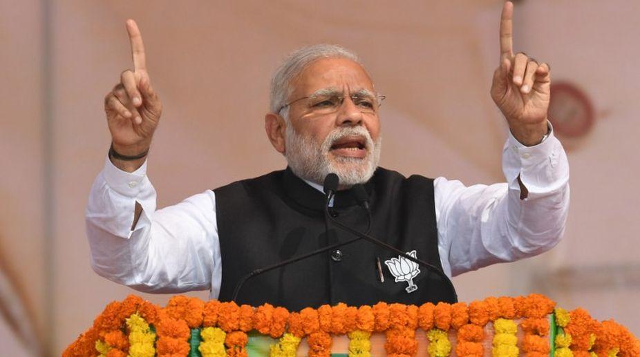 Prime Minister Modi (PHOTO: AFP)