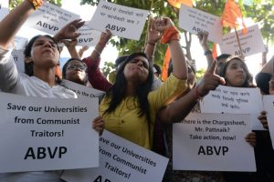 DU protests: ABVP counter march seeks ban on 'anti-nationals'