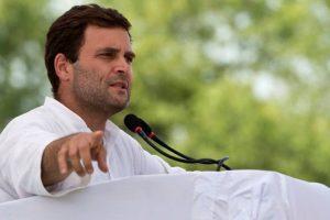 Modi ji strikes deal with Ganga maa, says Rahul Gandhi
