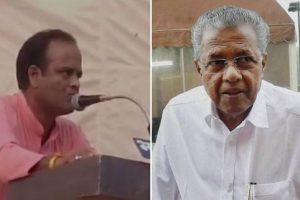 RSS leader Kundan Chandrawat sacked for Pinarayi bounty