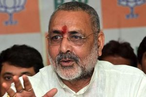 Araria will become hub of terror: Union Minister Giriraj Singh