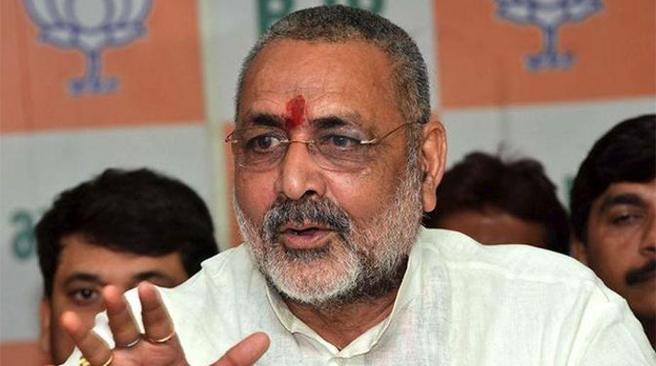 Union Minister, Giriraj Singh, Lok Sabha bypoll, Araria, Terror hub