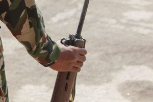 Two arrested in Jammu rifle snatching incident