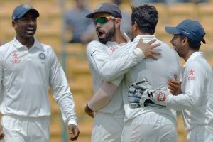 Bengaluru Test Day 4: India in sight of victory, require 4 wickets