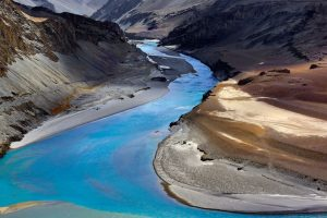 The choppy Indus