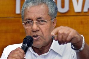 Kerala CM rejects demand of probe against CPI-M leader's son