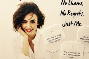Lily Collins forgives father for not being there for her