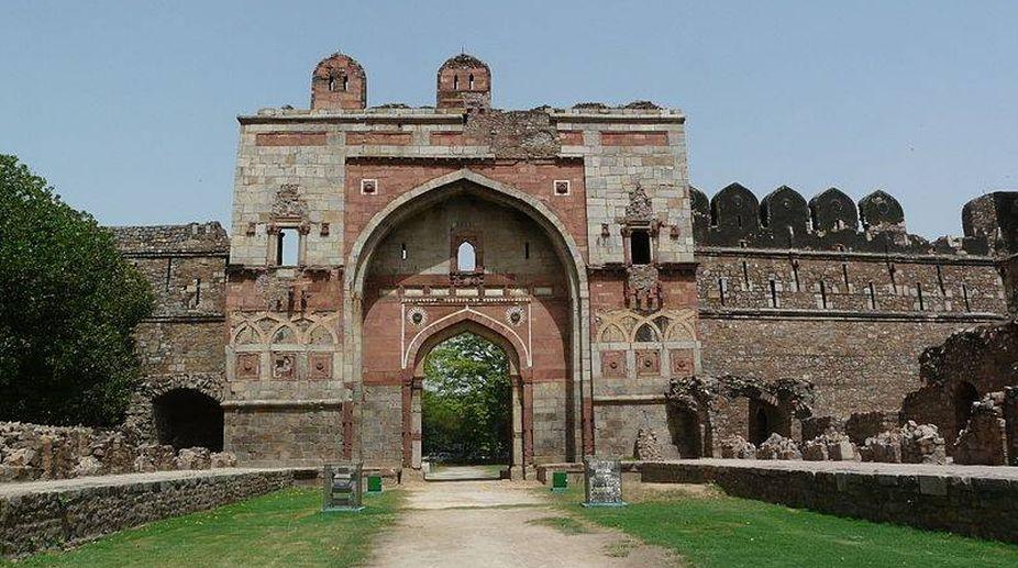 The Delhi of 14 gates, 14 windows