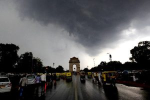 Delhi gets respite with light rain, similar weather on Wednesday