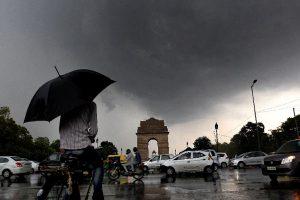 After the rain, it's cold in Delhi again