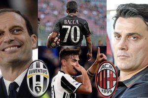 Serie A: Confident Juventus host unpredictable AC Milan