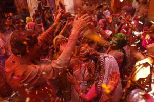 Vrindavan widows find solace