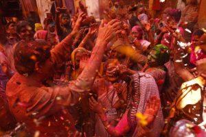 Vrindavan widows find solace