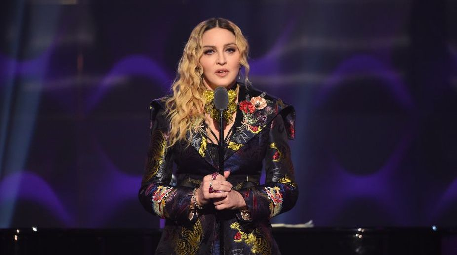 Madonna works out for five hours a day