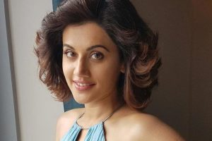 I am non-violent person in real life: Taapsee Pannu